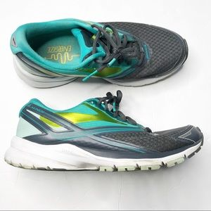 Brooks Launch 4 neon running sneakers athletic 8
